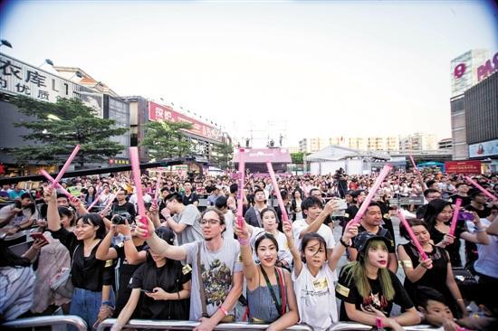 國慶生活新風向 廣州商場變身旅游目的地