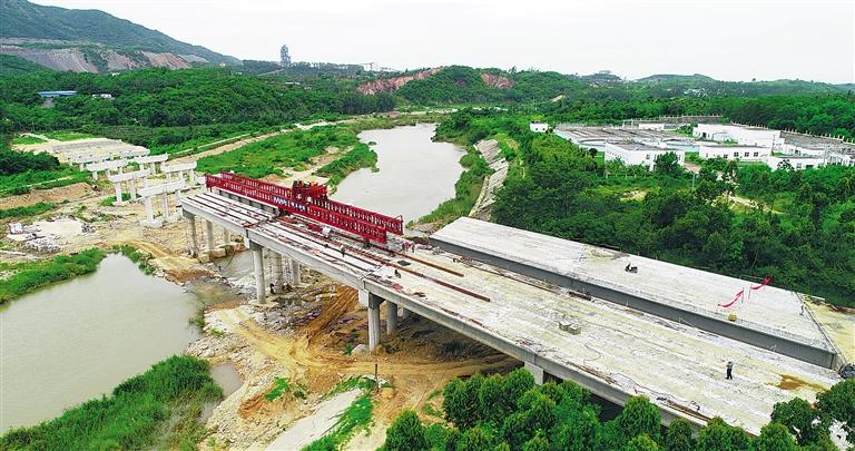 昌江石碌河第三大桥预计今年底通车