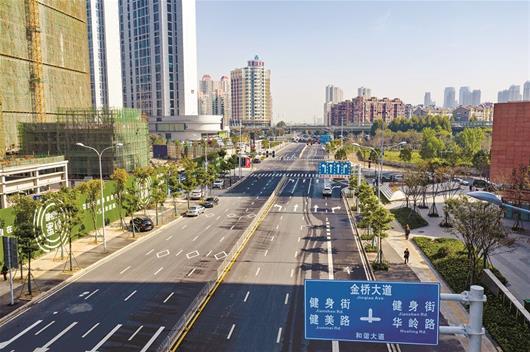 武汉后湖片区4条道路今日建成通车 惠及周边10万居民出行