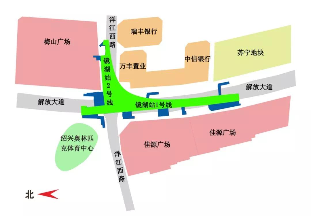 地铁新进展:解放大道与洋江西路口全封闭施工