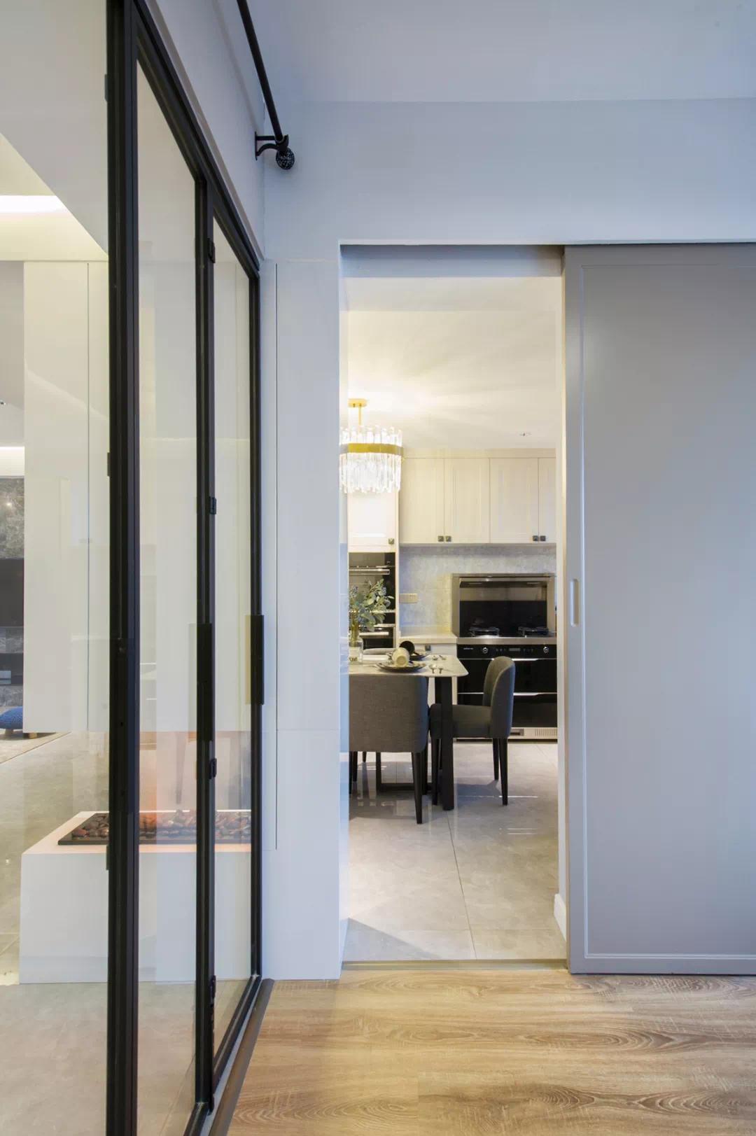 110m²舒适的现代风格,让家人舒适,让自己舒适 现代风格 装修 设计 第14张