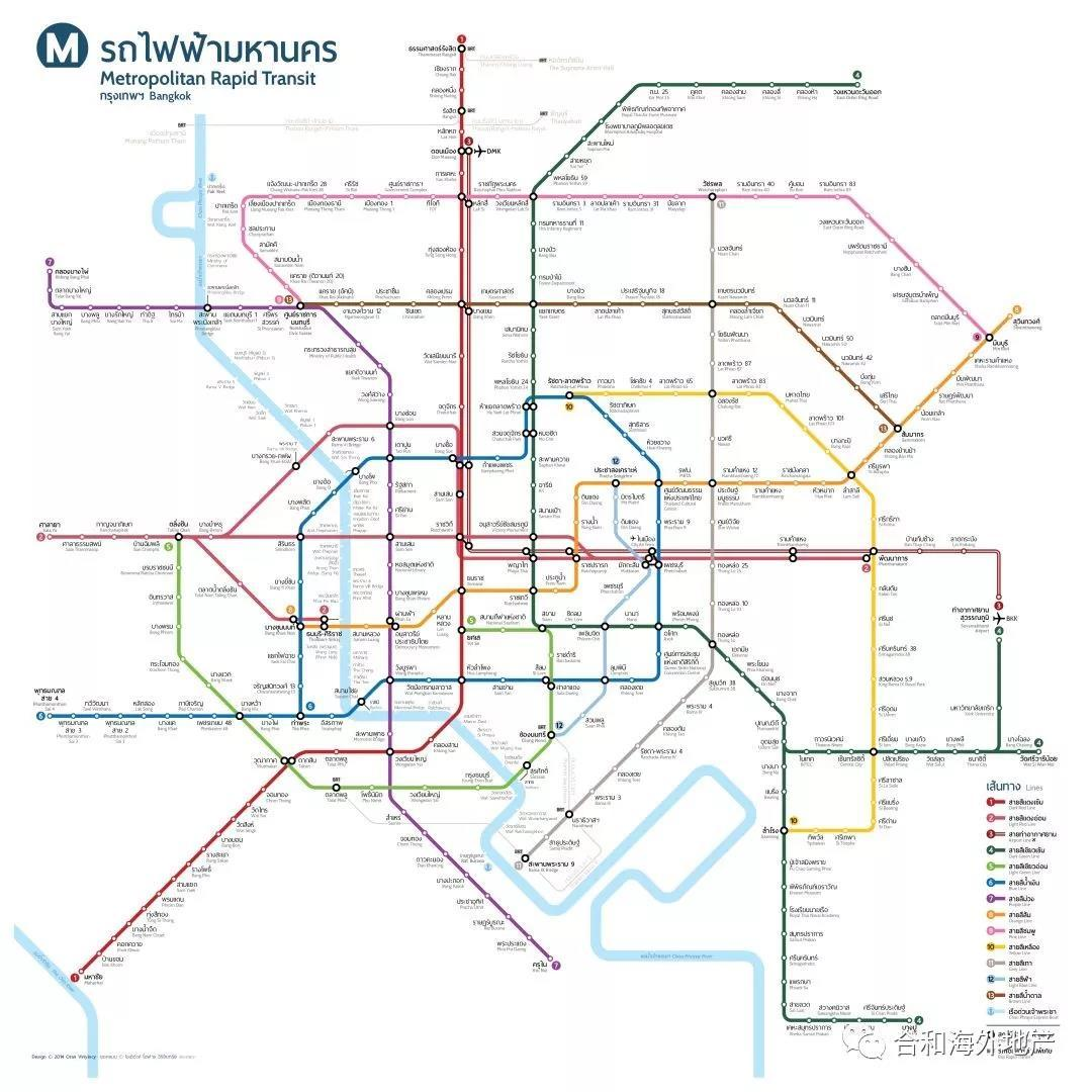 曼谷轻轨最新规划出炉,泰国曼谷房产投资机会来了吗?