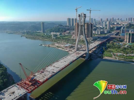 重慶潼南涪江大橋預計28日通車 兩岸通行時間將縮短10倍