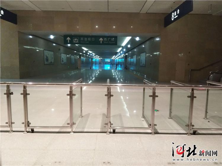 保定火车站东广场10月1日正式启用