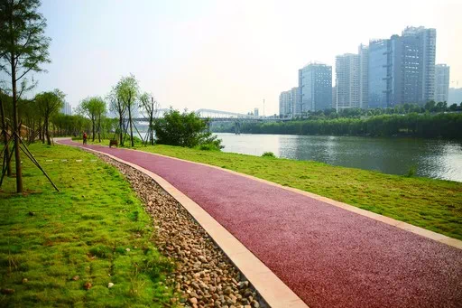 """4大主题功能区、开放河滩公园……衡阳这条风光带初现""""俏模样"""""""