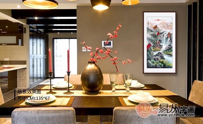 从一幅餐厅装饰画开始,改造家居餐厅的面貌