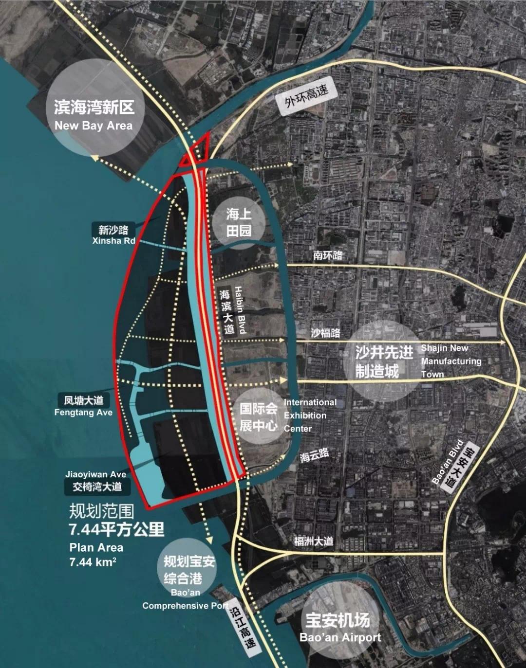 下一个前海!深圳海洋新城详细规划出炉!宝安要腾飞了