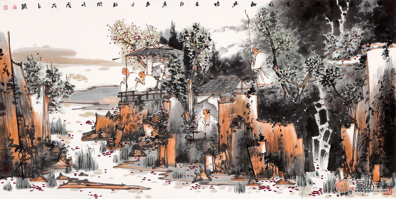 艺术文化中的一股清流——中美协会员鞠占圃