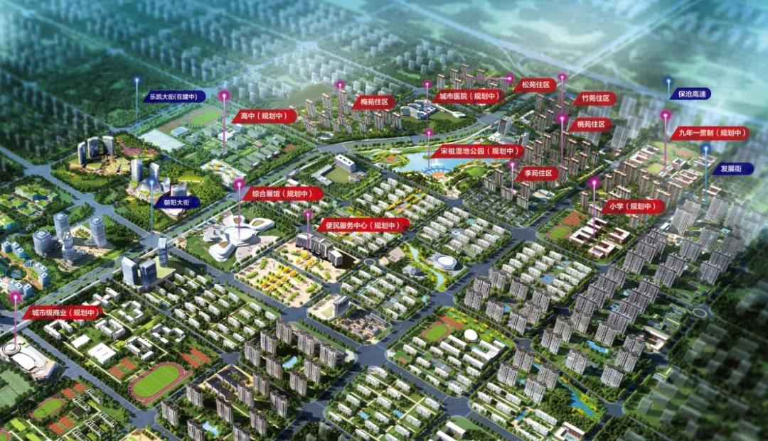 保定南城的崛起,未来人居新高地是TA?