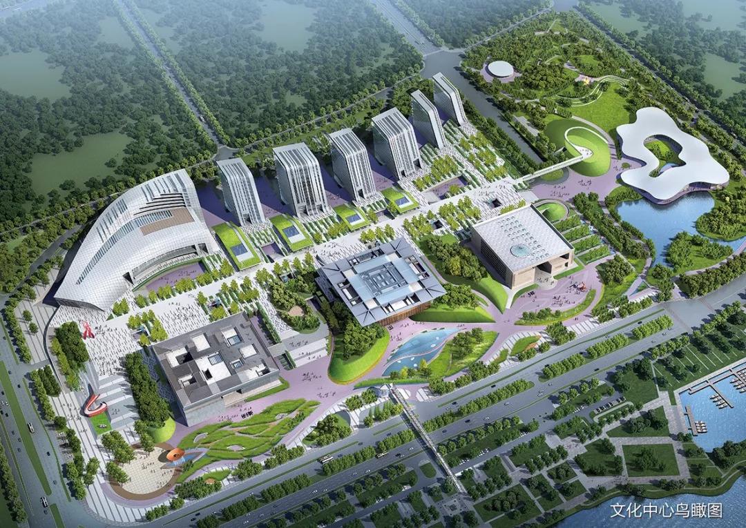 一体四馆格局!济宁市文化产业园建设工作挂图推进中