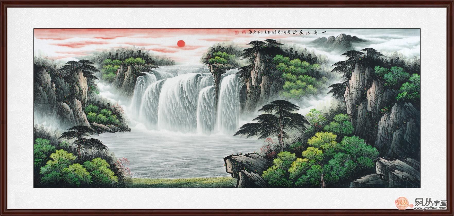 办公室挂画,山水画提升您的品位与格调