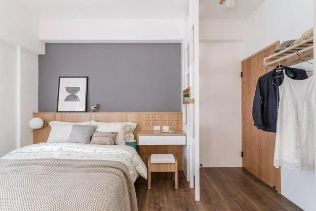 无印风格装修案例 弋江嘉园三居室设计简约而自然