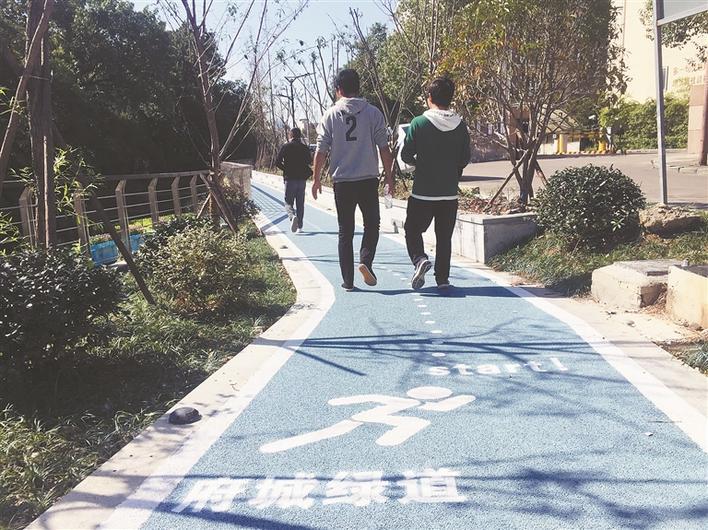 实地体验海门河水上绿道:城市水景气息扑面来