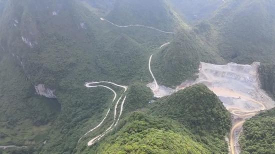广西一世界地质公园为项目开发让路 违规开采问题十分突出
