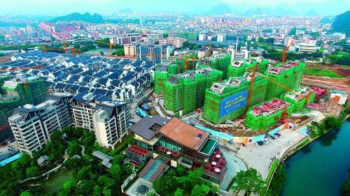 桂林这个区变化堪称翻天覆地!一系列的改造让数万人变土豪!