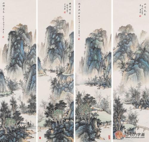 中美协会员赵洪霞作品欣赏,山水神韵,自然入画来