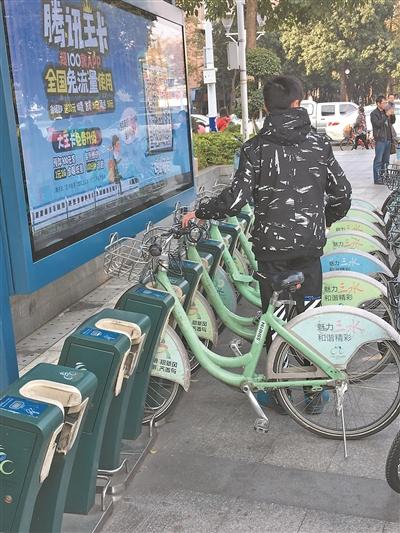 公共单车年底前更别三水 全区目前共计投入万辆共享单车