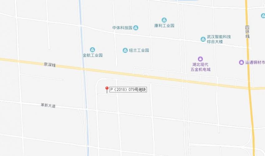 武漢昨日5宗地出讓,漢南區3宗