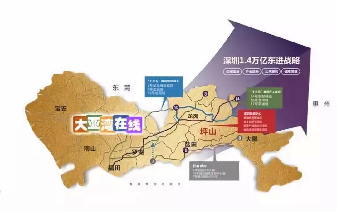 大亞灣將是香港的選擇?香港提議在大灣區開發130平方公里新城