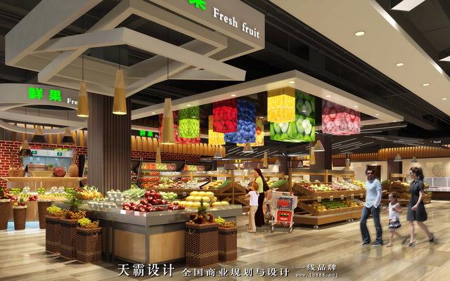 当轻工业风遇上几何形态,超市设计效果不要太吸引!