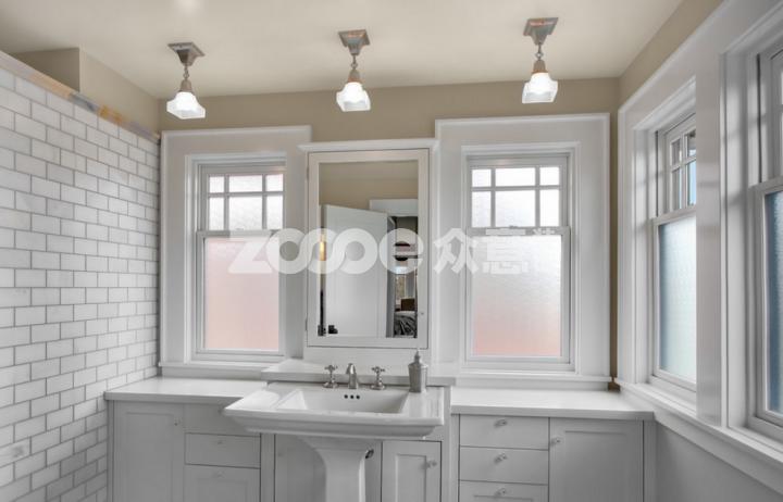 浴室设计 视觉上拓宽空间