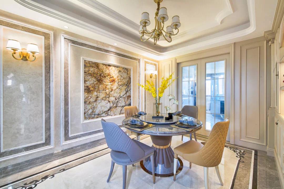 180m²中欧混搭的房子,古典、高贵、优雅,最终回归平静 混搭 第14张