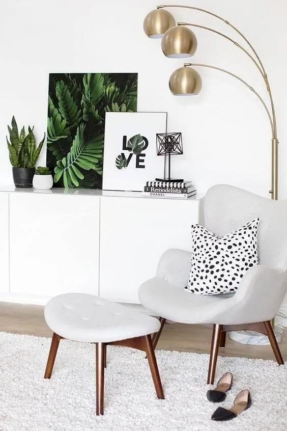 单人沙发要这么挑选才能成为家中一景,一不小心就爱上它了!