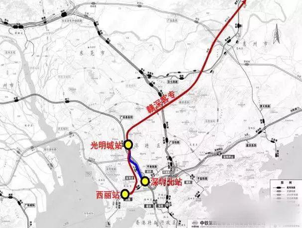 西丽高铁站最快明年开建 片区房价水涨船高破8万/平