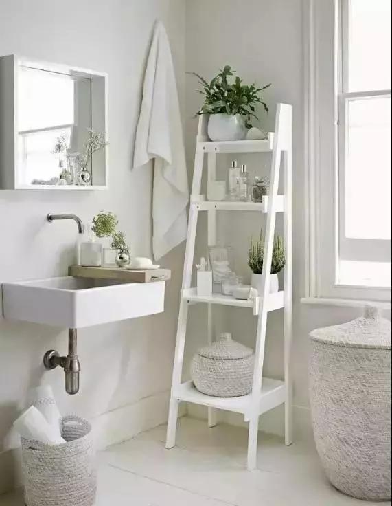 芜湖小清新风格的小户型卫生间装修案例