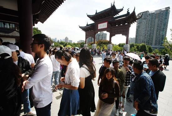 """武汉国庆""""新消费""""风生水起:老字号受追捧,汉街破人气纪录"""