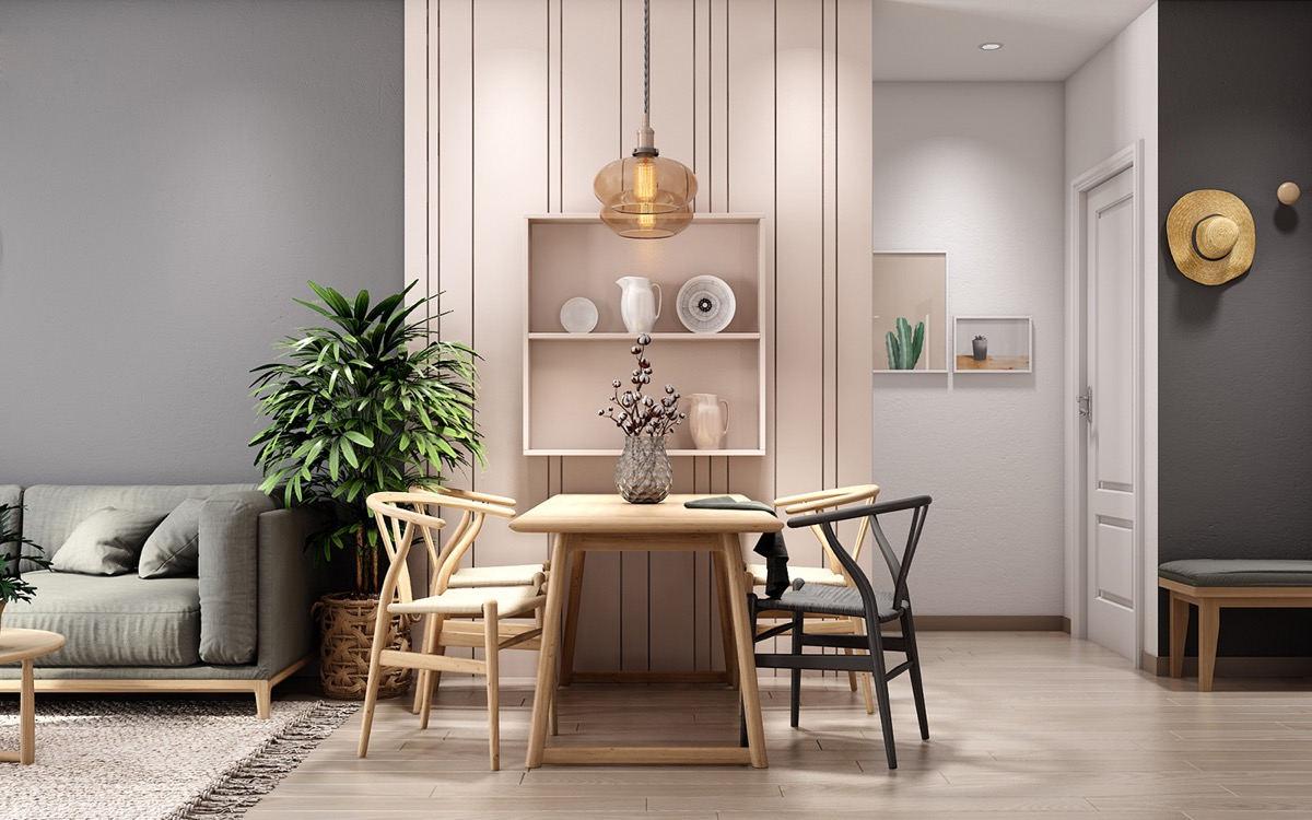 客餐廳一體化設計,家里顏值全靠它了