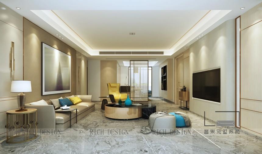家居装修使用温暖色调增添温馨感觉