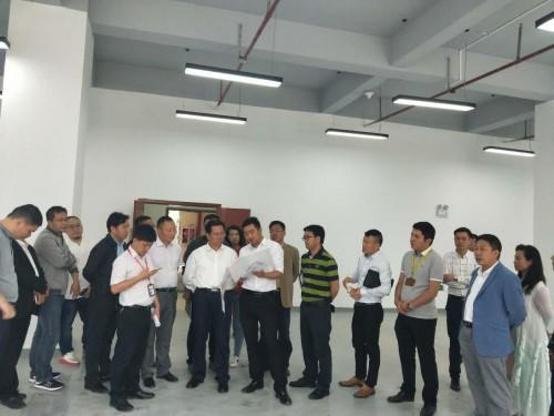 杨敢董事长陪同贵阳市政协副主席杨明晋调研白酒产业园