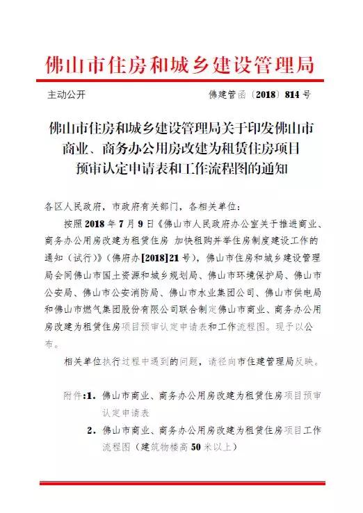 """佛山""""商改租""""操作指南公布:两年内未验收自动审批作废"""