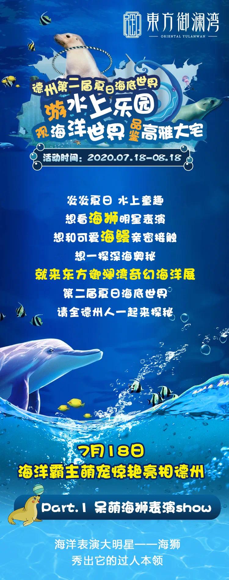 18日东方御澜湾盛大开放,游水上乐园,观海洋世界