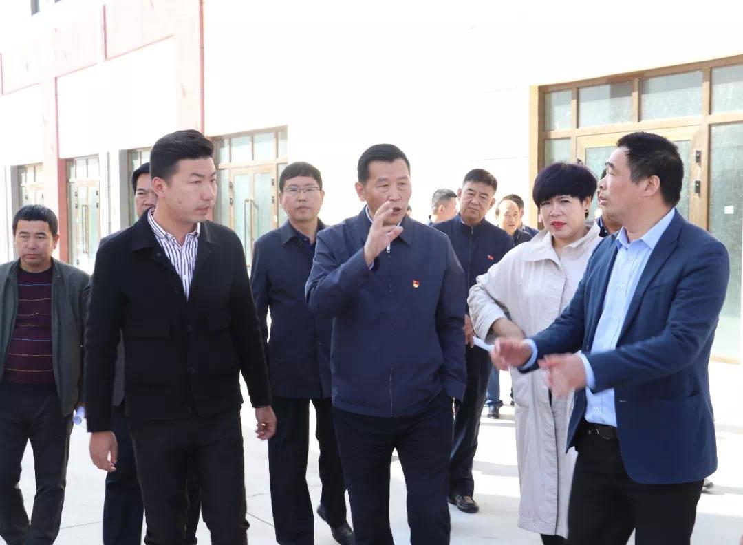 西宁市委常委、大通县委书记宋晨曦莅临西北城调研指导