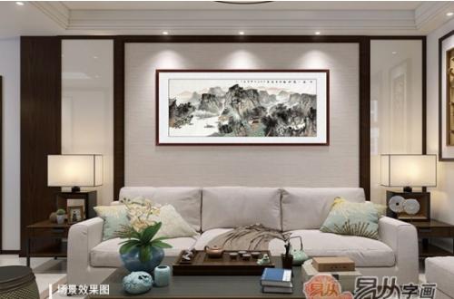 客厅背景墙装饰画推荐:装饰、收藏、风水三不误!