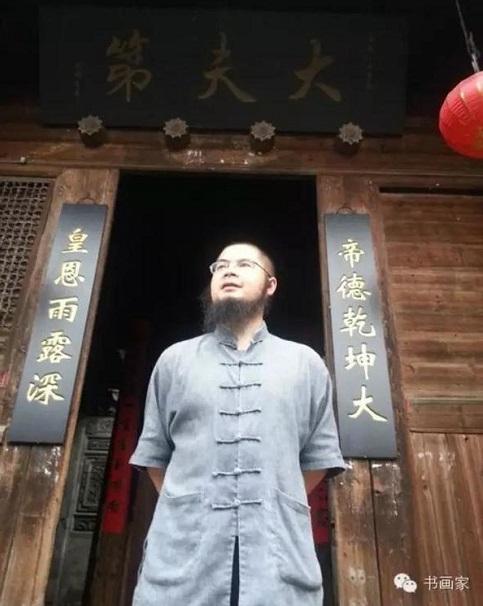 家居装饰画也要有档次,吴大恺的亲笔手绘山水画欣赏