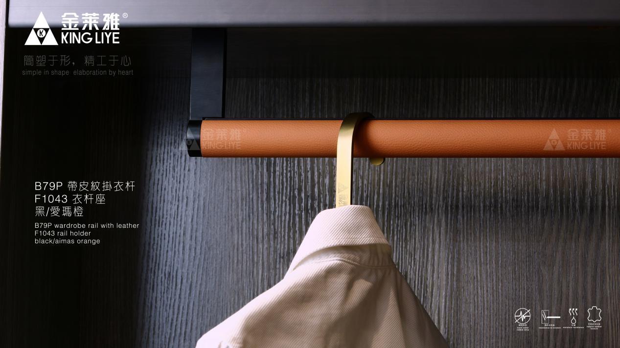 《【摩登3娱乐客户端登录】金莱雅高端衣柜五金配件 定义轻奢衣柜风格》