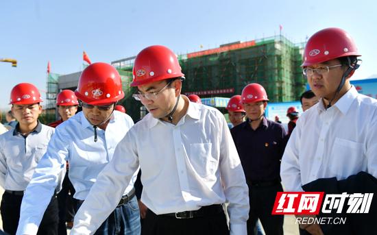 刘革安调研重点建设项目:注重工程品质 加快项目建设