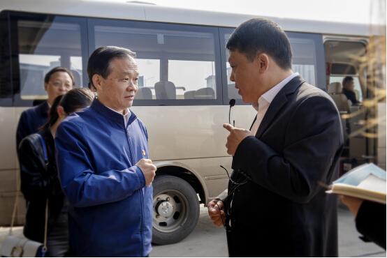 许昌亚丹环保项目获市领导认可,市委书记胡五岳表示大力支持!