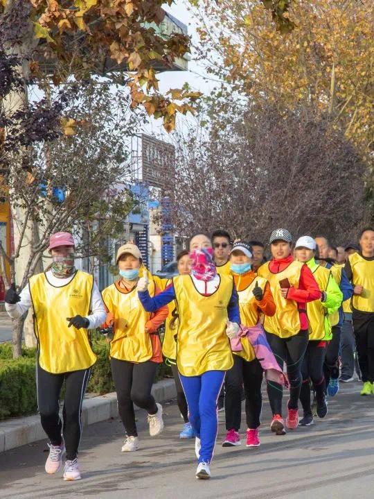 2020绿城德达玉园首届全民健康跑圆满结束!