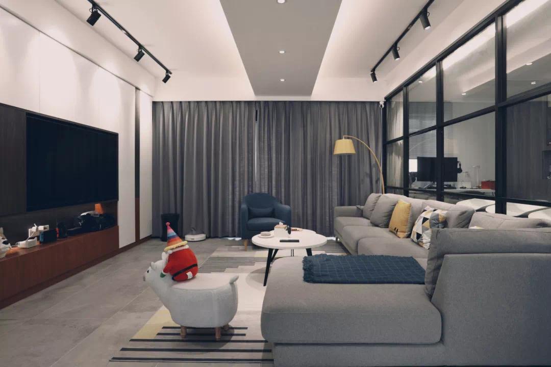 120m²宅男宅女的现代乐居,每一处装修设计细节,都是你想要的! 装修 细节 第6张
