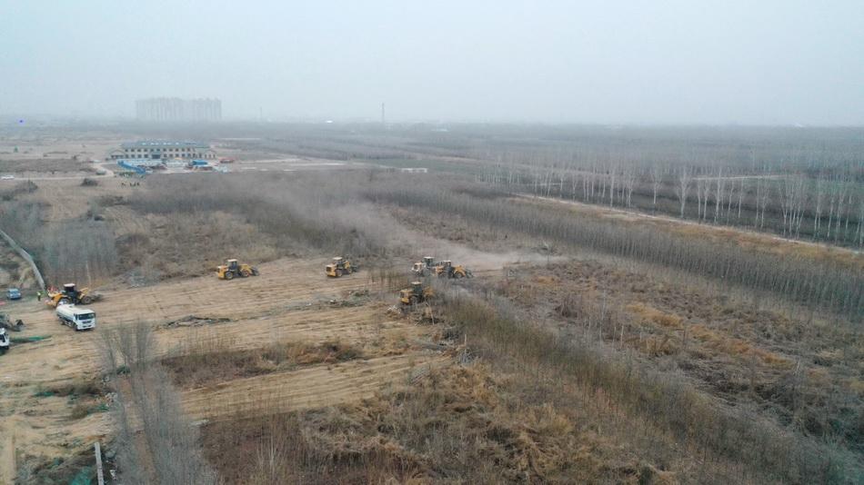 三千套集成房屋正陆续运抵正定县 石家庄建设集中隔离点