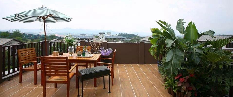 碧桂园东海天玺 99%的人想拥有这样一个大阳台!