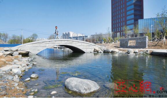 乌市水磨河三期生态景观改造工程预计5月底完工