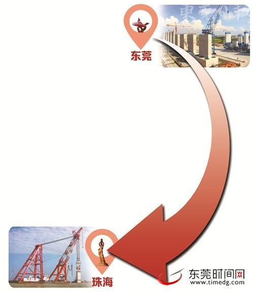 """港珠澳大桥有72座桥墩东莞造 还有这些""""莞味""""元素"""