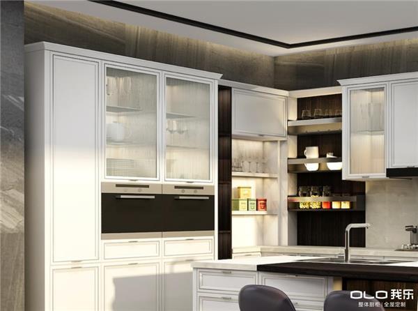我乐橱柜用材质创新为您打造最美轻奢厨房生活