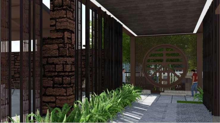 石梅春墅项目在售:新中式院落 公寓总价为56万元/套起