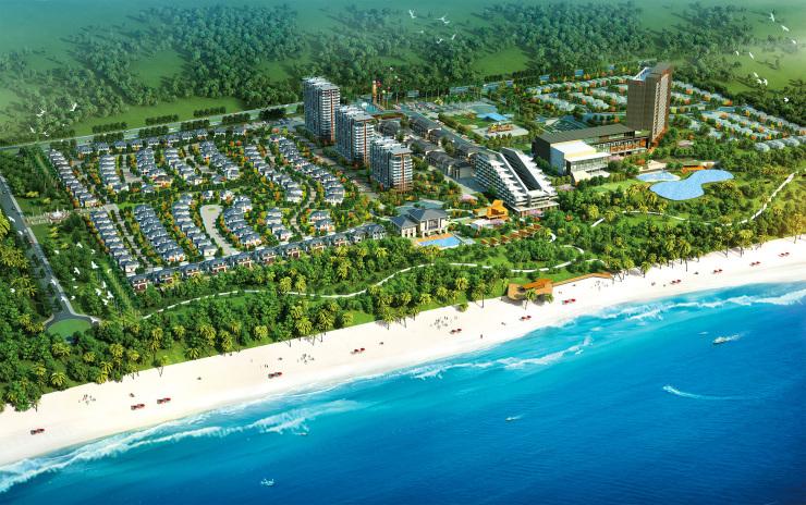 富力月亮湾项目在售:海景装修现房 均价12000元/平米